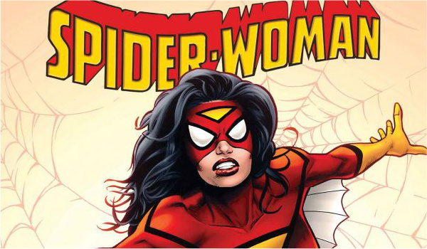 spider-woman comic art