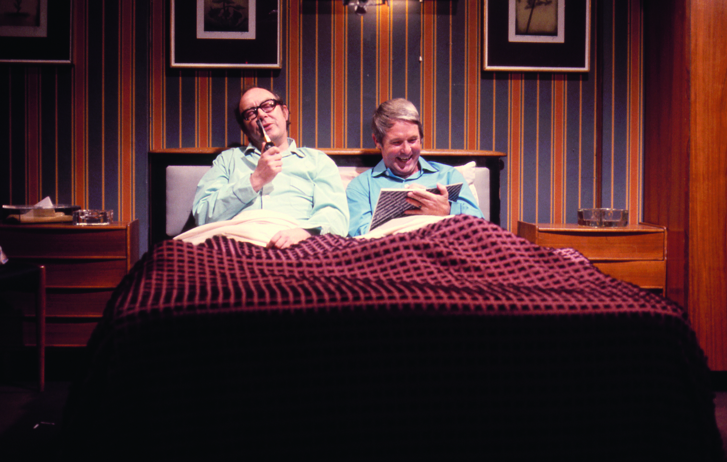 This fond five-part tribute, narrated by Victoria Wood, continues with 'At Home with Eric and Ern', a look at the sketches based around the theme of home.