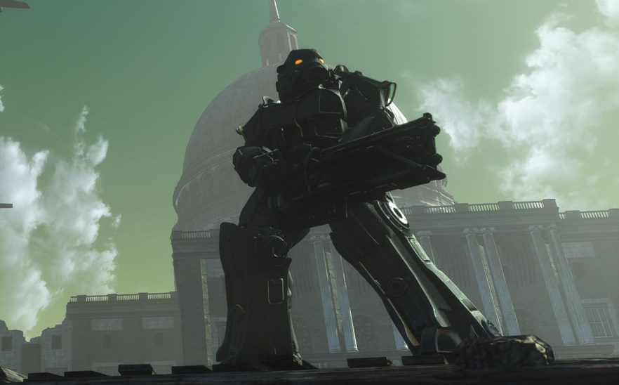Capital Wasteland, the remake of Fallout 3 in Fallout 4, has