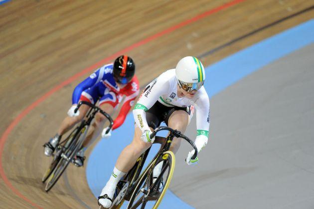Anna Meares Victoria Pendleton womens sprint 2011 world track championships Apeldoorn[3].jpg