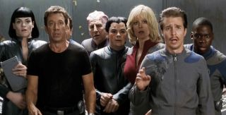 """""""Galaxy Quest"""" is truly an epic, multi-layered movie that succeeded as much by accident as by design."""