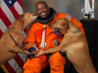Former NASA astronaut Leland Melvin flew to space twice and led the agency's Office of Education from 2010 to 2014.