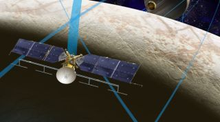 NASA's Europa orbiter mission conception