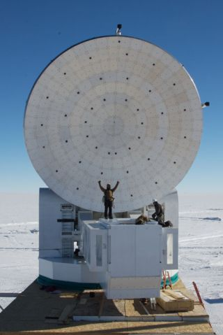 New Search for Cosmic Inflation Mounted
