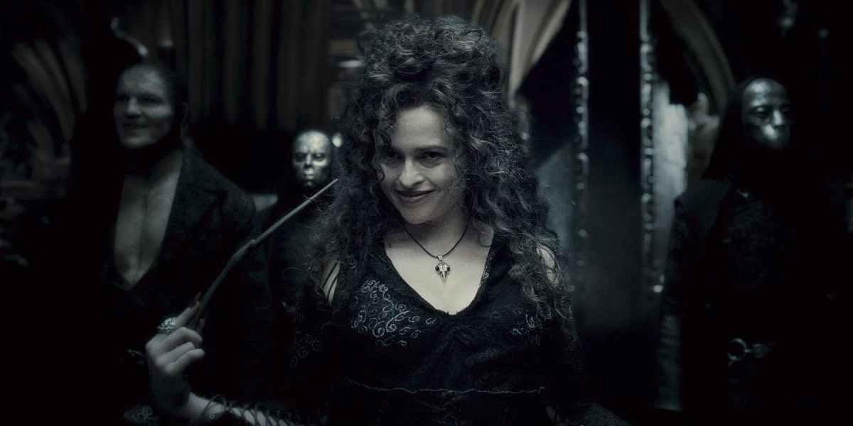 Bellatrix Lestrange in Harry Potter and the Half-Blood Prince.