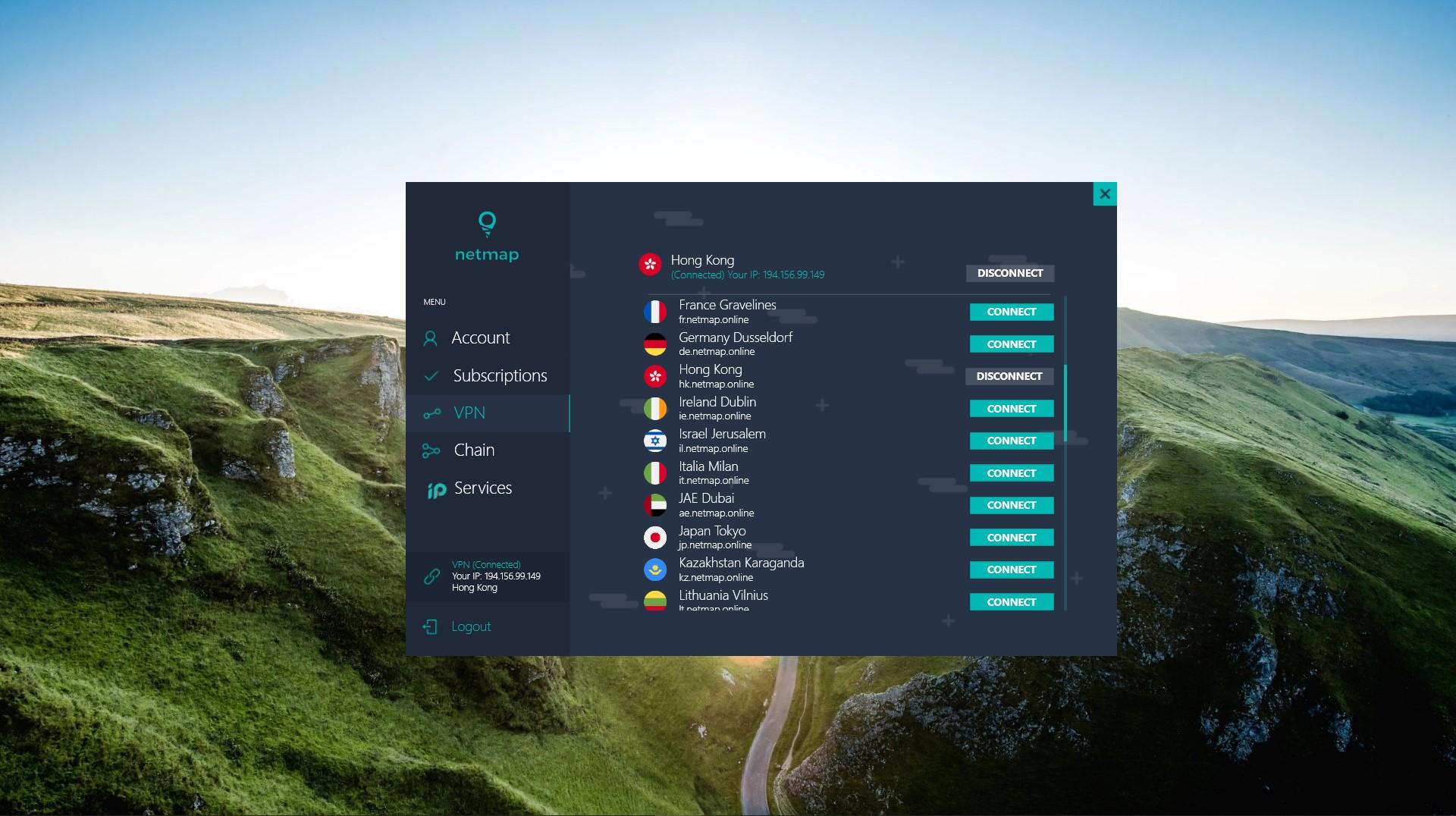 Netmap VPN
