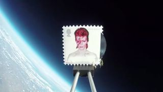 The Bowie stamp in space