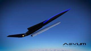Aevum's Ravn air-launch system art
