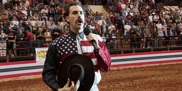 570a606c2f Sacha Baron Cohen in Borat. It has been over a decade since Sacha Baron  Cohen s film Borat  Cultural Learnings of America for ...