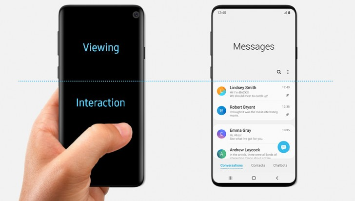 Samsung Galaxy S10 in-display fingerprint scanner reportedly