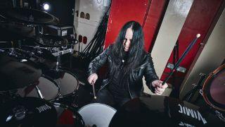 Joey Jordison in 2018