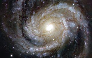 Messier 100 Spiral Galaxy space wallpaper