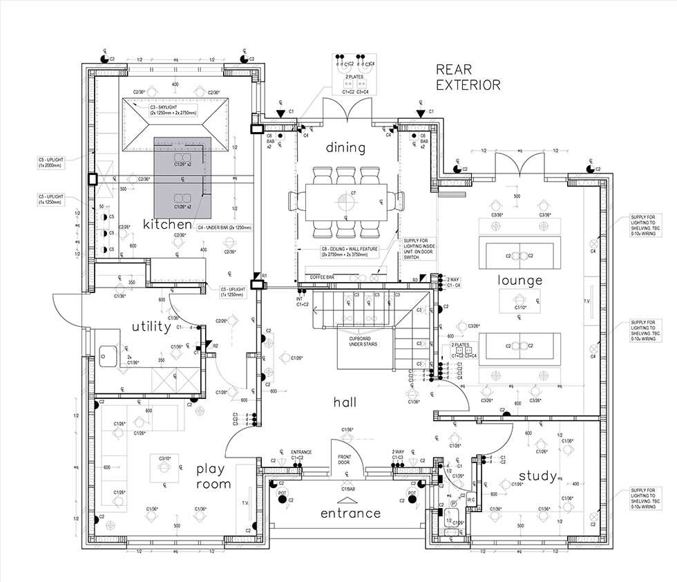 [DIAGRAM_38EU]  Electrics: The Basics   Homebuilding   Electrical Plan Uk      Homebuilding & Renovating