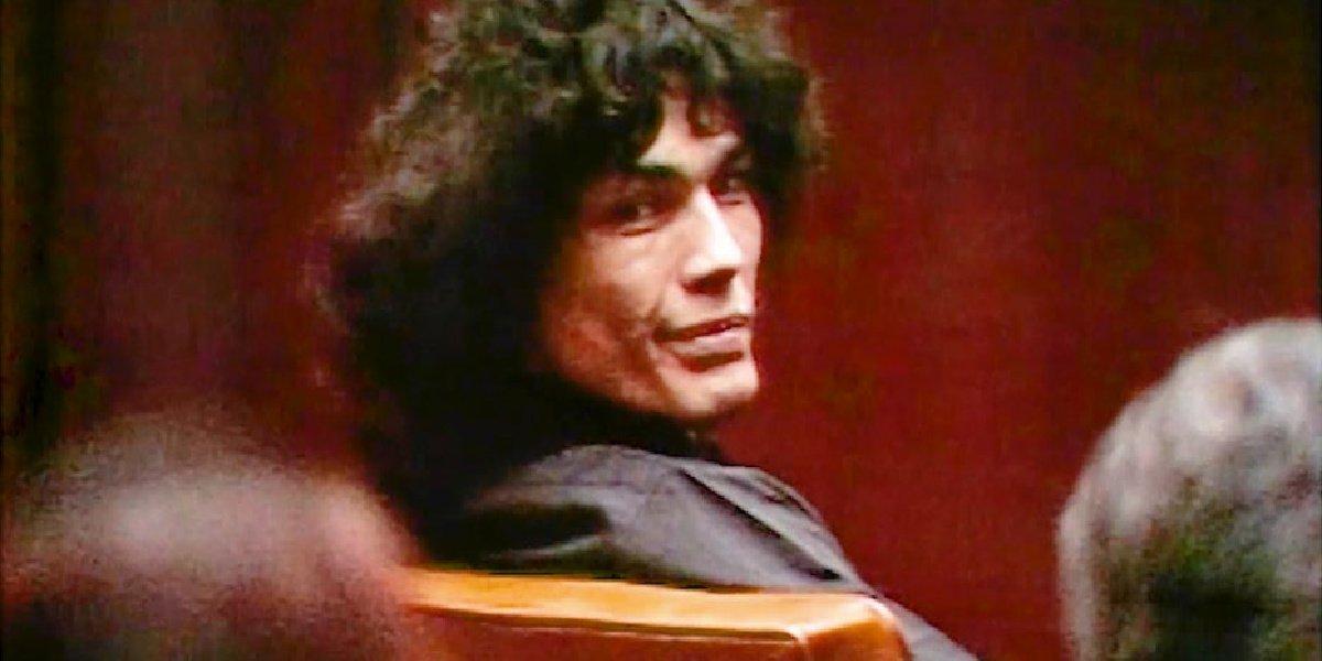 Richard Ramirez in Night Stalker: The Hunt for a Serial Killer on Netflix.