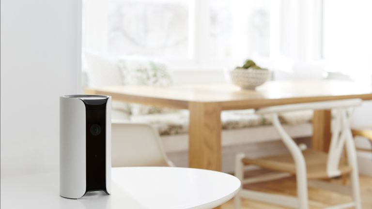 the best home security system: Canary All-In-One Indoor Security System