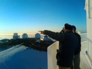 On Top of the World With the SETI Institute