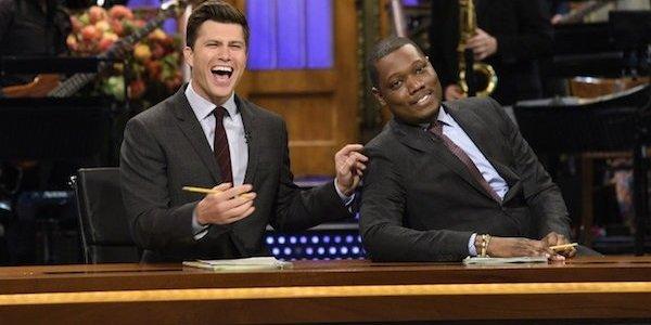 Michael Che Colin Jost Saturday Night Live NBC