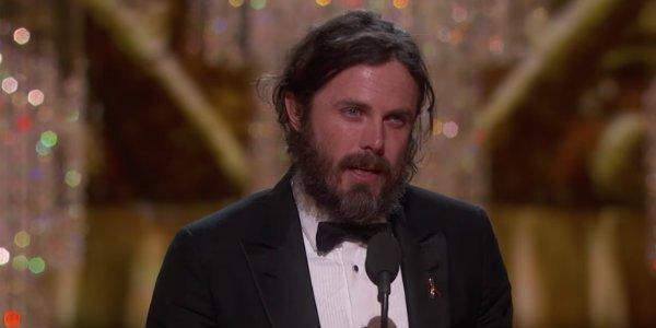 Casey Affleck 2017 Oscar acceptance speech