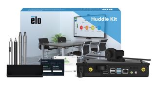 Elo has debuted the Huddle Kit, an accessories bundle that pairs with Elo's 4K interactive displays to provide businesses with a simplified collaboration and videoconferencing solution.