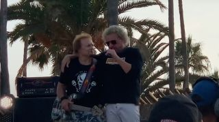 Sammy Hagar and Michael Anthony pay tribute to Eddie Van Halen