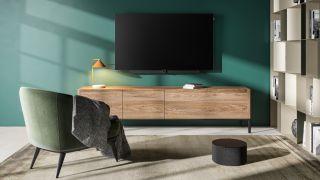 Loewe bild i OLED TV, klang bar i and kland sub 5