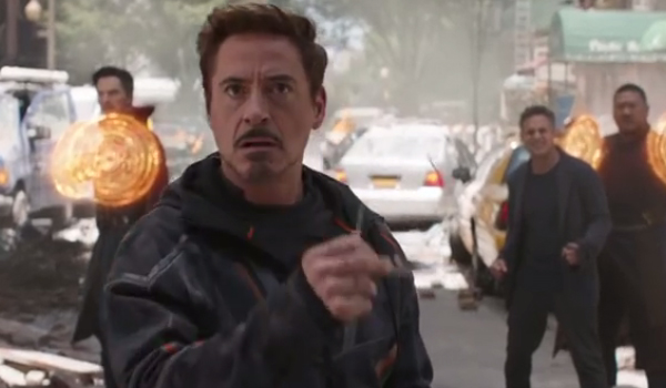 Strange Tony Bruce Banner Wong Avengers Infinity War