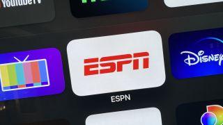 ESPN app on Apple TV