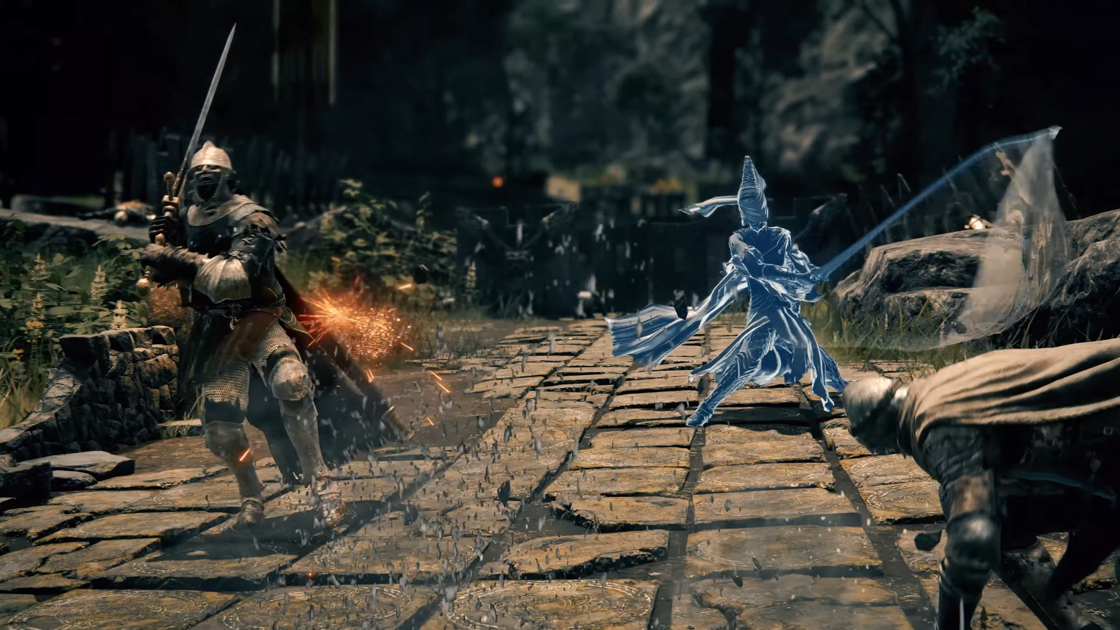 Elden Ring - Summon blue spirts to fight with you