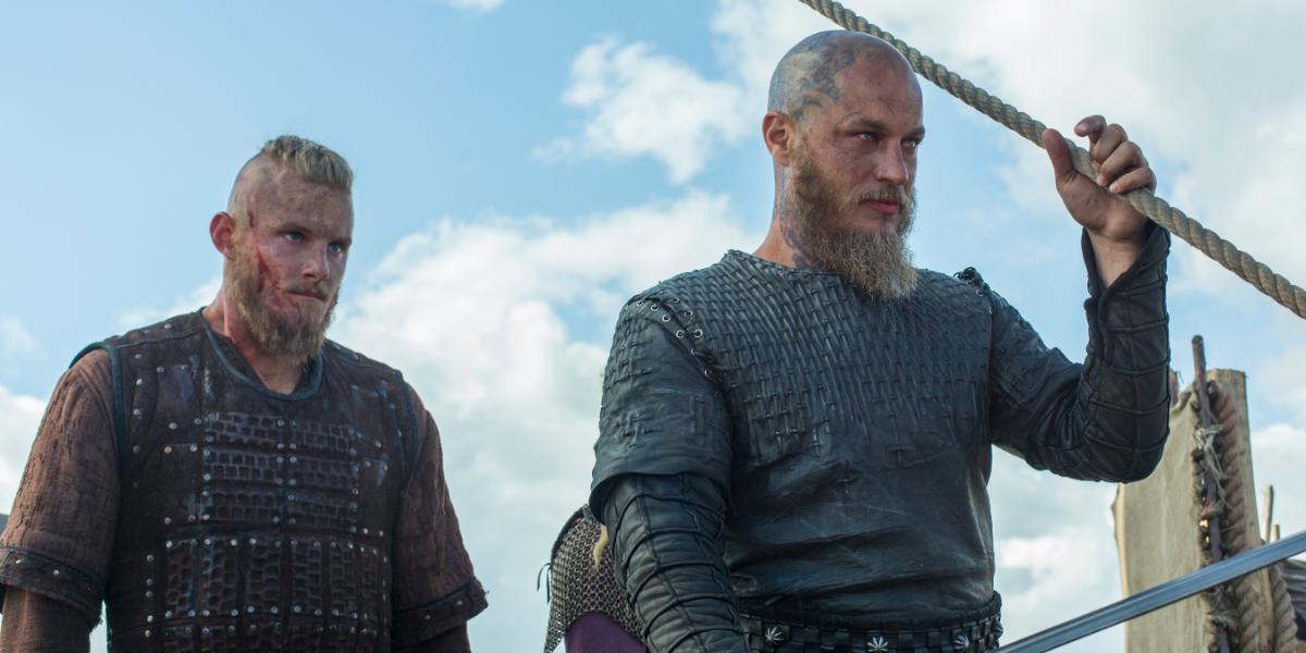 Vikings Bjorn Ironside Alexander Ludwig Ragnar Lothbrok Travis Fimmel History