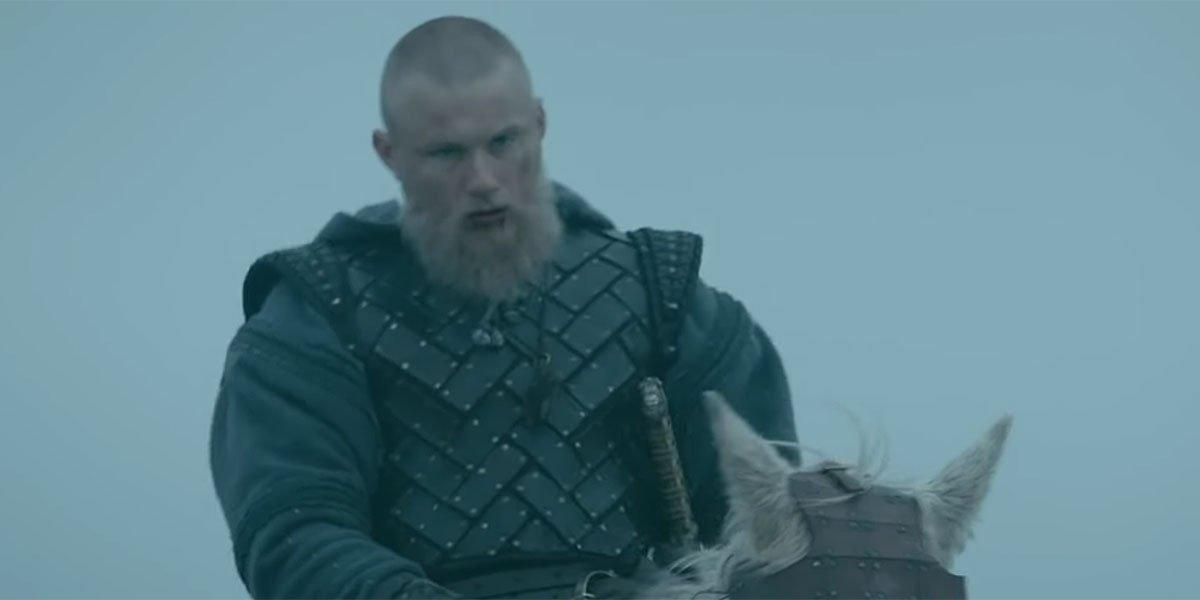 Bjorn heavily injured in Vikings Season 6