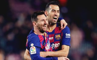 Messi & Busquets