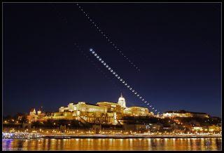 budapest skywatching venus moon jupiter