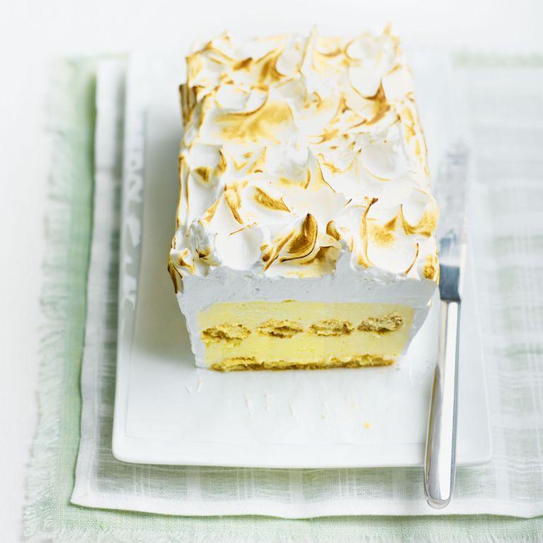 lemon baked alaska - show-off dessert - woman and home