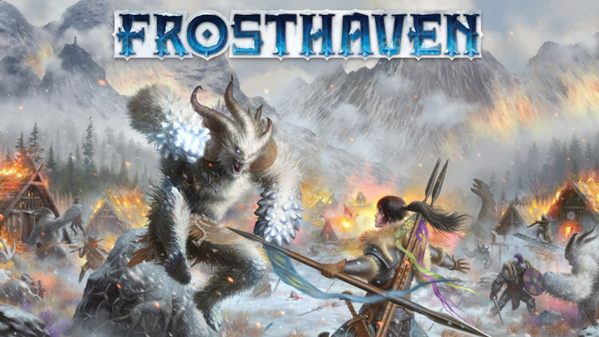 Frosthaven - the Gloomhaven board game is getting a sequel, and it sounds awesome