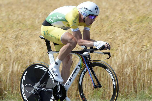 Tony Martin wins stage seven of the 2014 Tour de Suisse