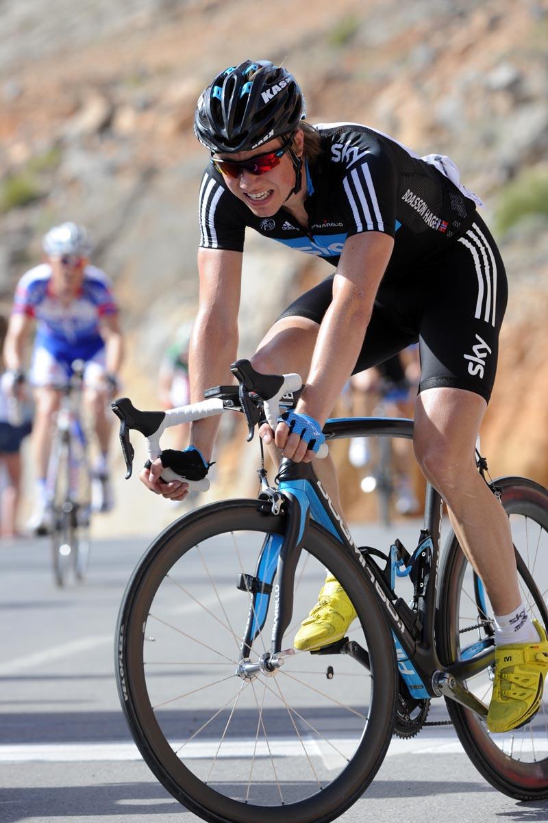 Edvald Boasson Hagen, Tour of Oman 2011, stage four