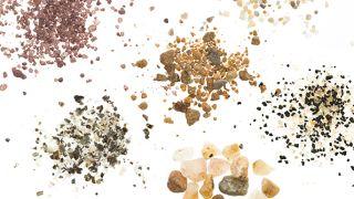 Sand samples