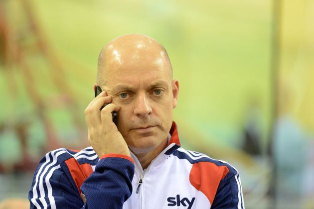 Dave Brailsford Glasgow track world cup 2012