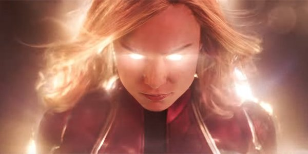 Captain Marvel powering up