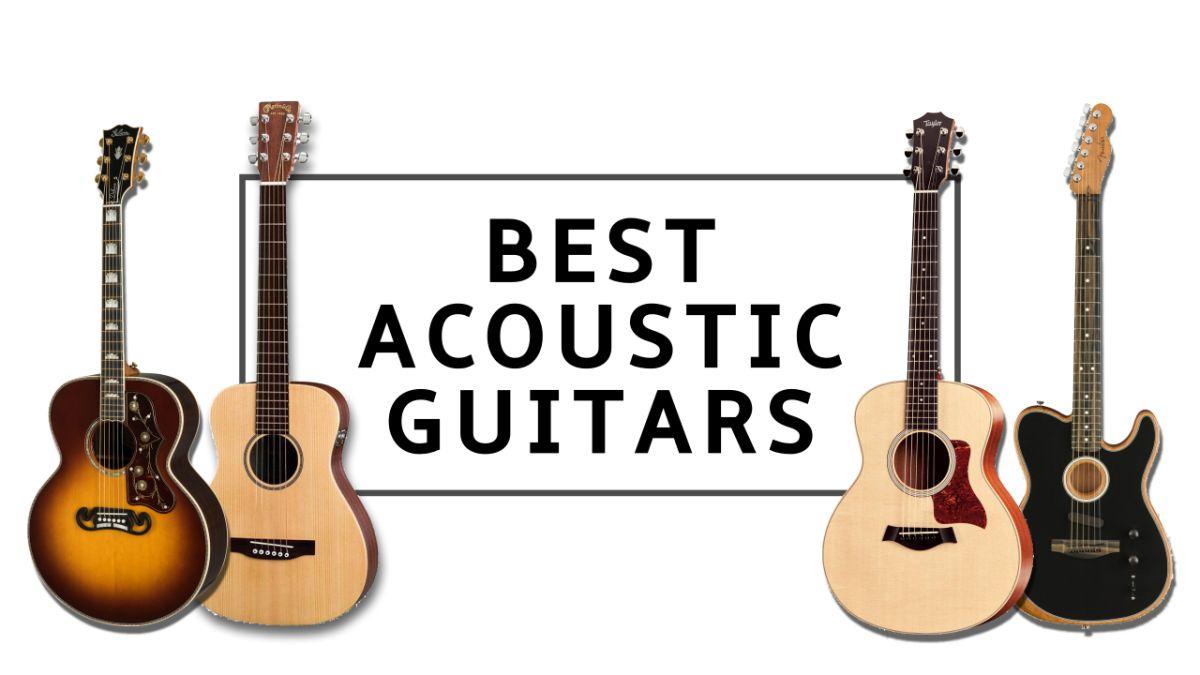 Best Acoustic Guitars 2021 11 Top Strummers For Beginner To Pro Guitarists Guitar World