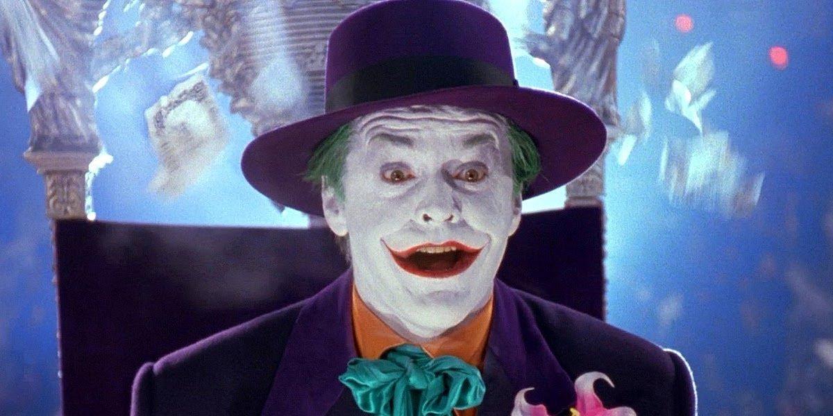 Jack Nicholson as The Joker in Batman