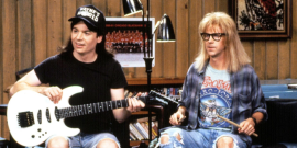 Mike Myers And Dana Carvey Reunited For A Wayne's World Super Bowl Ad, And How Does Dana Carvey Look Exactly The Same?