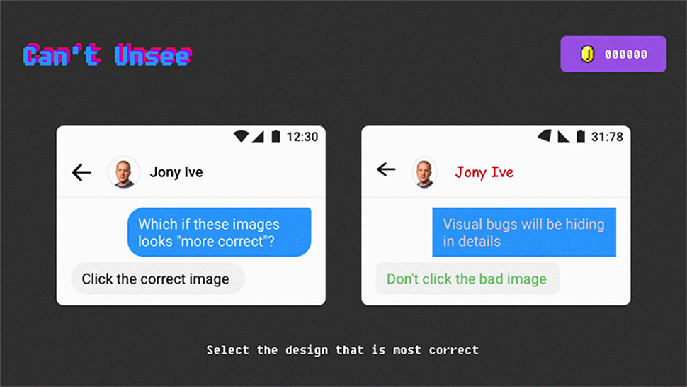 Spot UI design flaws with this addictive quiz
