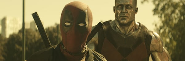 Deadpool 2 Deadpool and Colossus approaching the situation