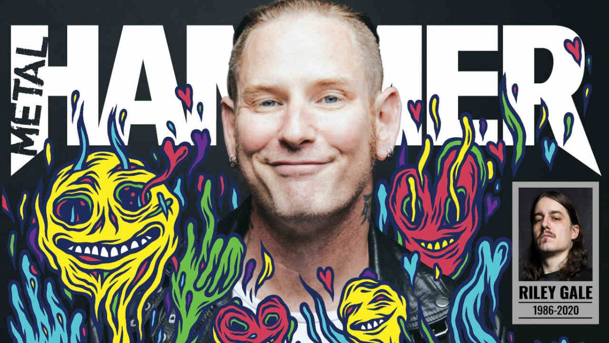 Corey Taylor is on the new Metal Hammer cover… and he's happy?!