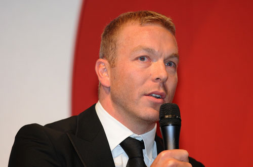 Sir Chris Hoy, British Cycling Hall of Fame, Gala Dinner 2010