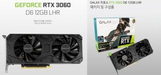 Galax 3060 LHR