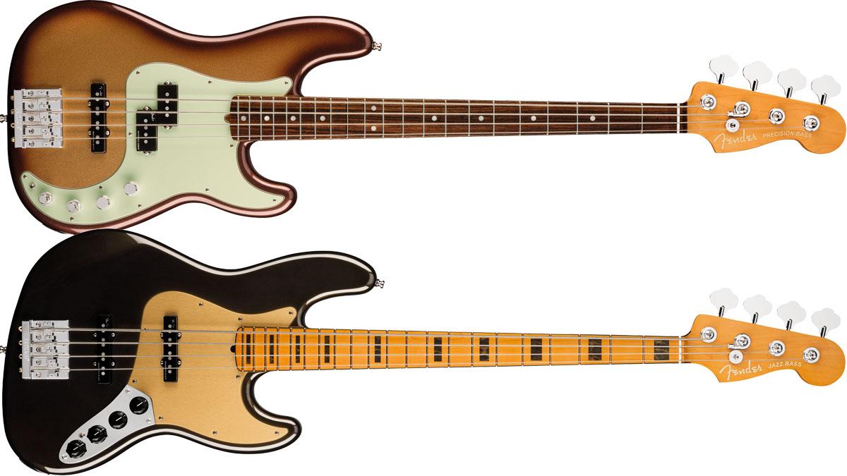 NEW GOLD Bridge For Fender Jazz Precision Bass