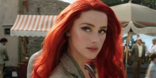 Amber Heard's red hair in Aquaman first look