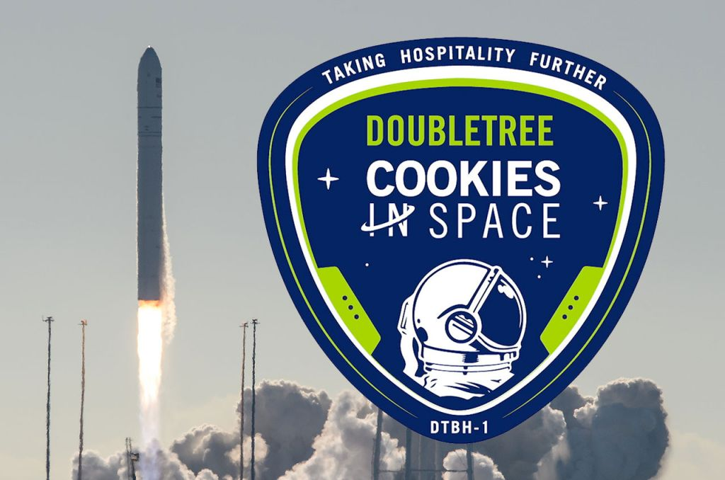 Hilton DoubleTree Cookie Dough Launches With Zero G Oven for Space Station